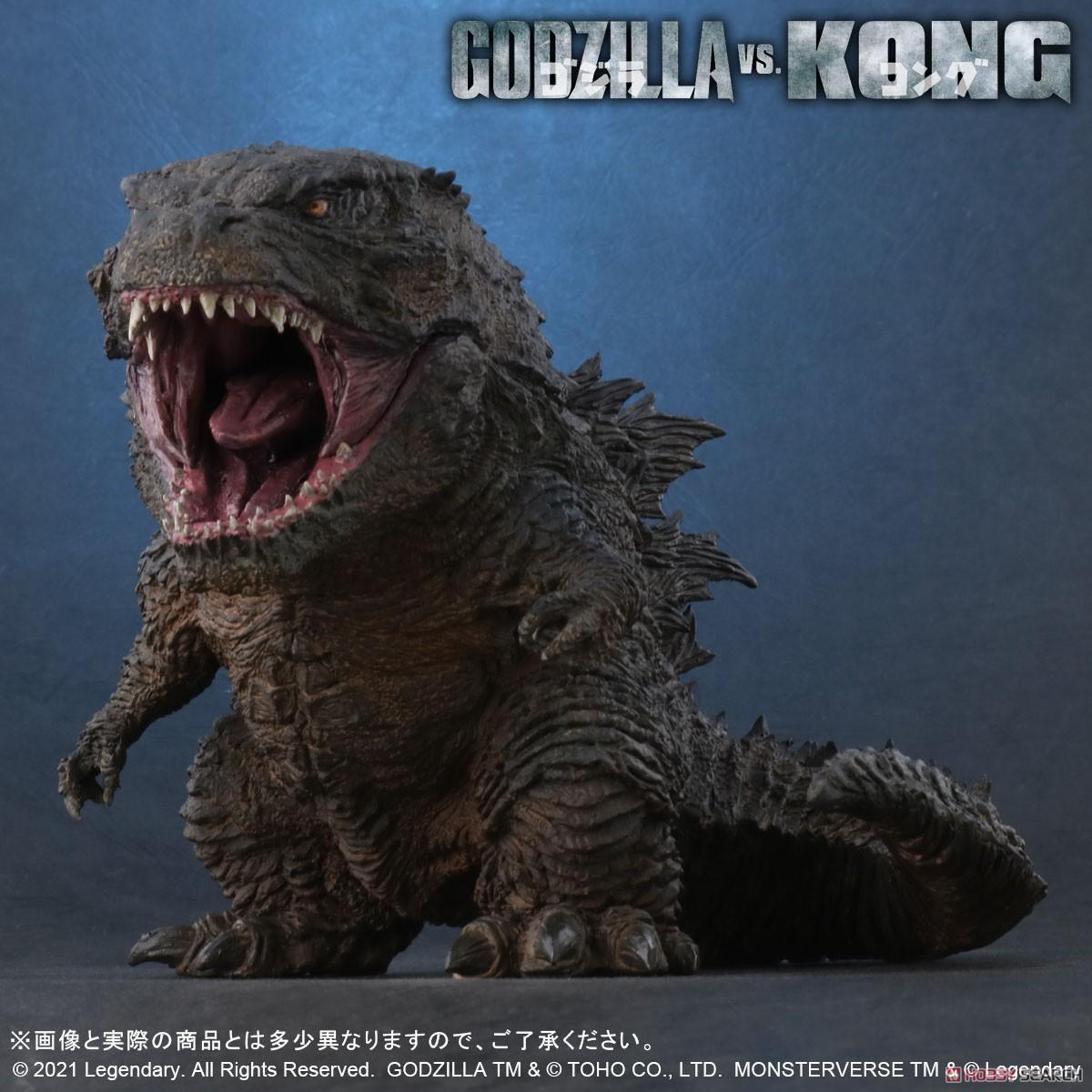 デフォリアル『GODZILLA FROM GODZILLA VS. KONG(2021)』ゴジラvsコング デフォルメ完成品フィギュア-003