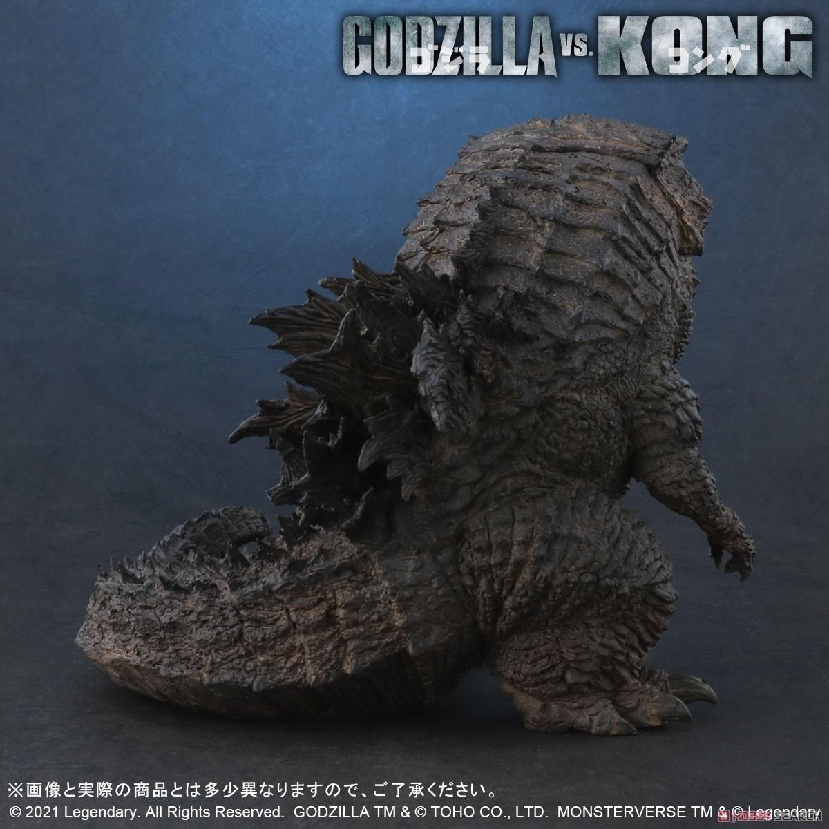 デフォリアル『GODZILLA FROM GODZILLA VS. KONG(2021)』ゴジラvsコング デフォルメ完成品フィギュア-005