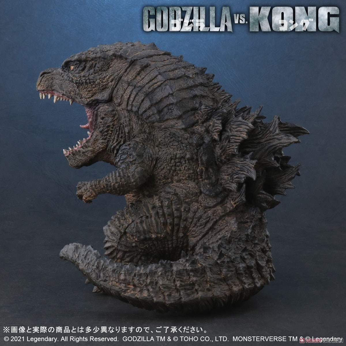 デフォリアル『GODZILLA FROM GODZILLA VS. KONG(2021)』ゴジラvsコング デフォルメ完成品フィギュア-006