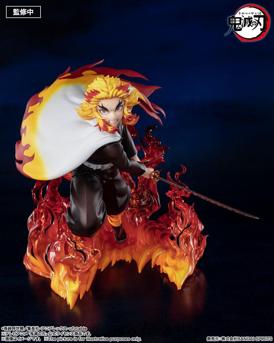 フィギュアーツZERO『煉獄杏寿郎 炎柱』鬼滅の刃 完成品フィギュア-002