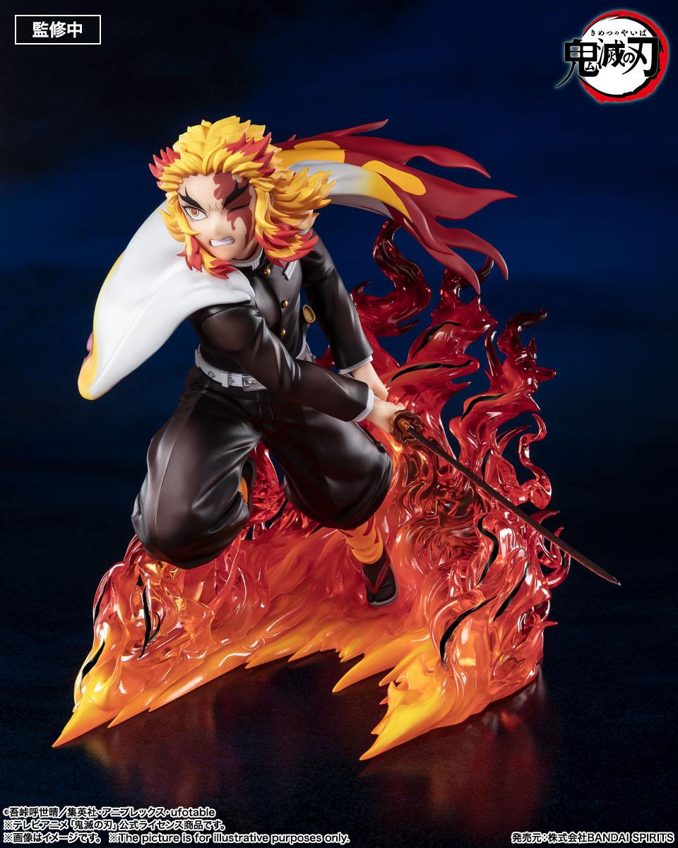 フィギュアーツZERO『煉獄杏寿郎 炎柱』鬼滅の刃 完成品フィギュア-005