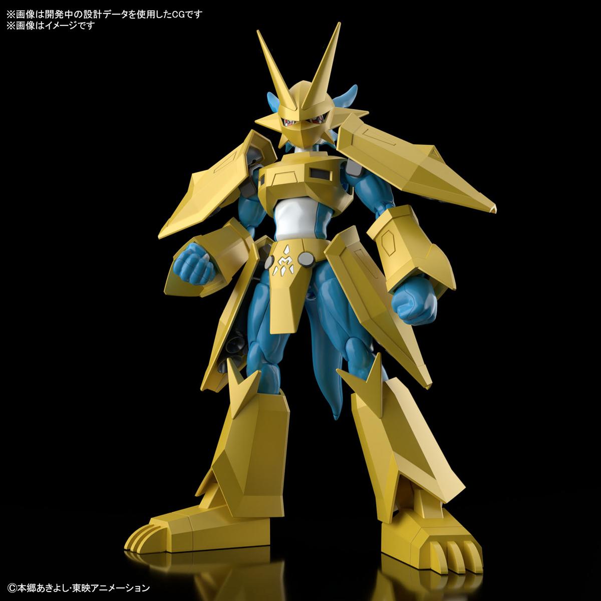 Figure-rise Standard『マグナモン』デジモンテイマーズ プラモデル-001