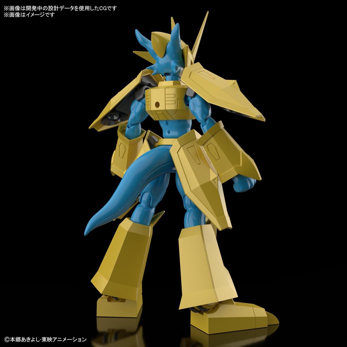 Figure-rise Standard『マグナモン』デジモンテイマーズ プラモデル-002