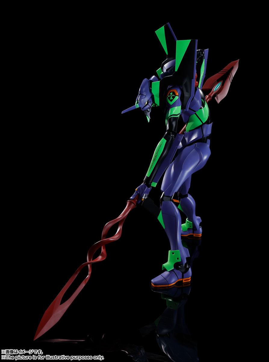 DYNACTION『エヴァンゲリオン初号機+カシウスの槍(リニューアルカラーエディション)』ダイナクション 可動フィギュア-001