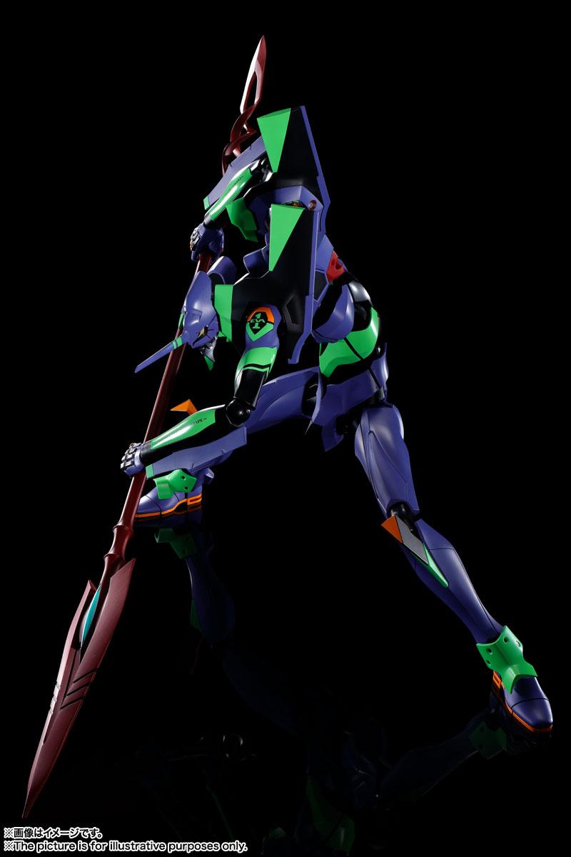 DYNACTION『エヴァンゲリオン初号機+カシウスの槍(リニューアルカラーエディション)』ダイナクション 可動フィギュア-003