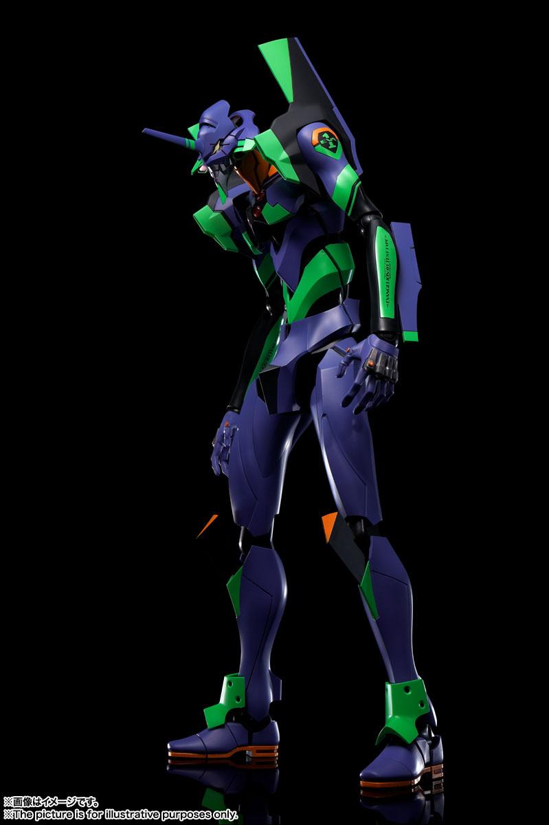 DYNACTION『エヴァンゲリオン初号機+カシウスの槍(リニューアルカラーエディション)』ダイナクション 可動フィギュア-005
