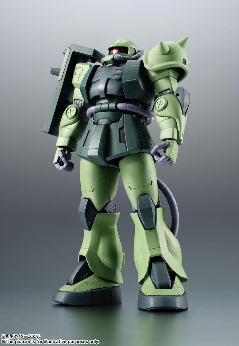 ROBOT魂〈SIDE MS〉『MS-06JC 陸戦型ザクII JC型 ver. A.N.I.M.E.』機動戦士ガンダム 第08MS小隊 可動フィギュア-001