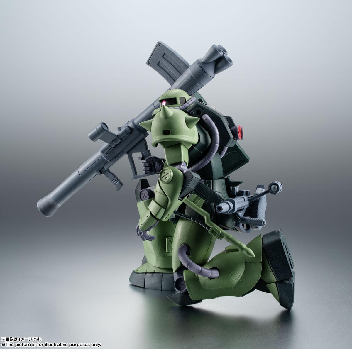 ROBOT魂〈SIDE MS〉『MS-06JC 陸戦型ザクII JC型 ver. A.N.I.M.E.』機動戦士ガンダム 第08MS小隊 可動フィギュア-006