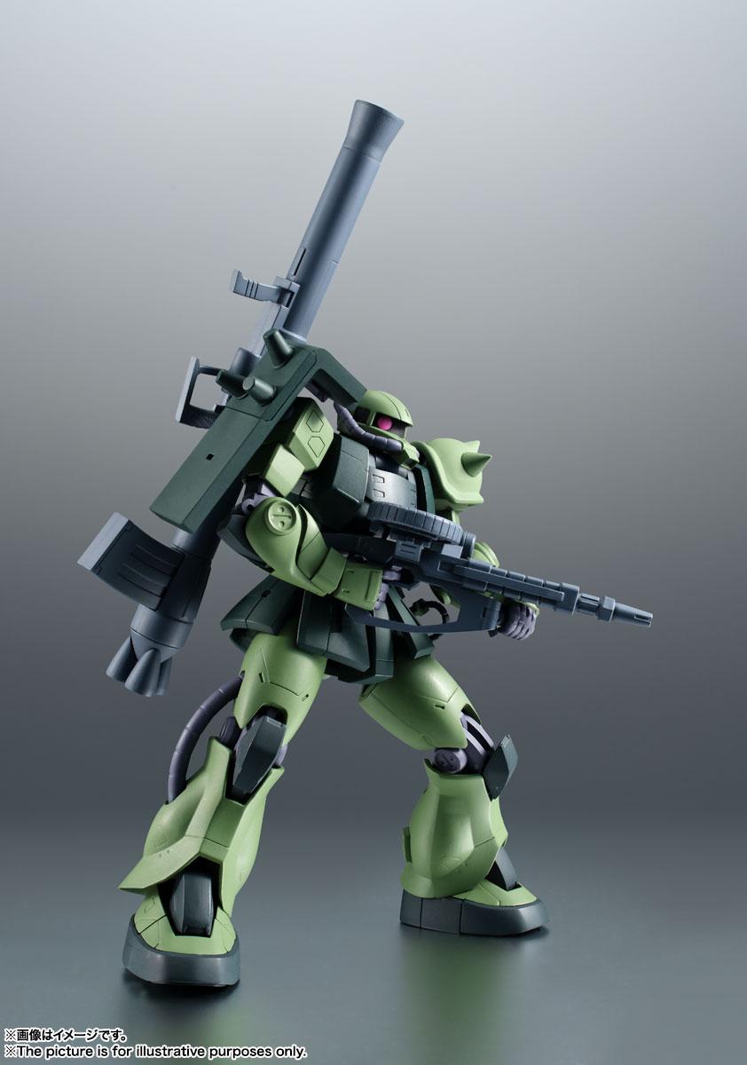 ROBOT魂〈SIDE MS〉『MS-06JC 陸戦型ザクII JC型 ver. A.N.I.M.E.』機動戦士ガンダム 第08MS小隊 可動フィギュア-008