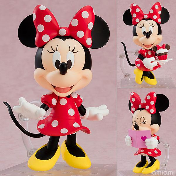 ねんどろいど『ミニーマウス 水玉ドレスVer.』ディズニー デフォルメ可動フィギュア