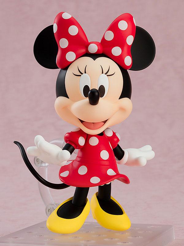 ねんどろいど『ミニーマウス 水玉ドレスVer.』ディズニー デフォルメ可動フィギュア-001