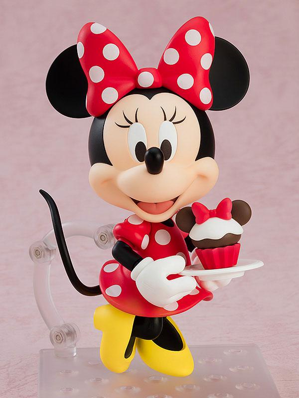 ねんどろいど『ミニーマウス 水玉ドレスVer.』ディズニー デフォルメ可動フィギュア-002