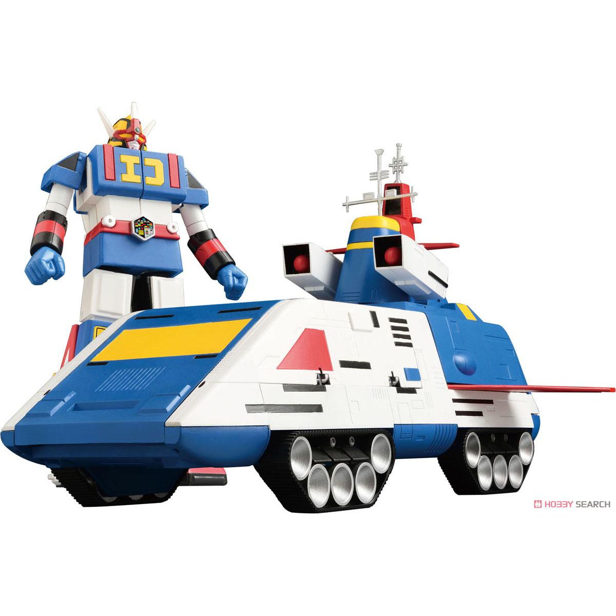 電子戦隊デンジマン『デンジタイガー&ダイデンジン』変形可動フィギュア-001