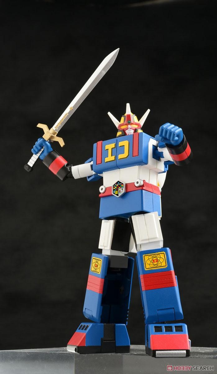 電子戦隊デンジマン『デンジタイガー&ダイデンジン』変形可動フィギュア-002