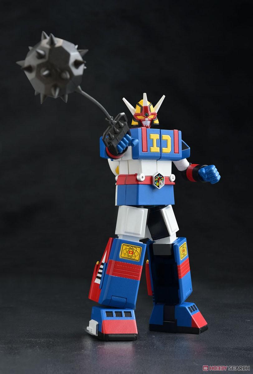 電子戦隊デンジマン『デンジタイガー&ダイデンジン』変形可動フィギュア-003
