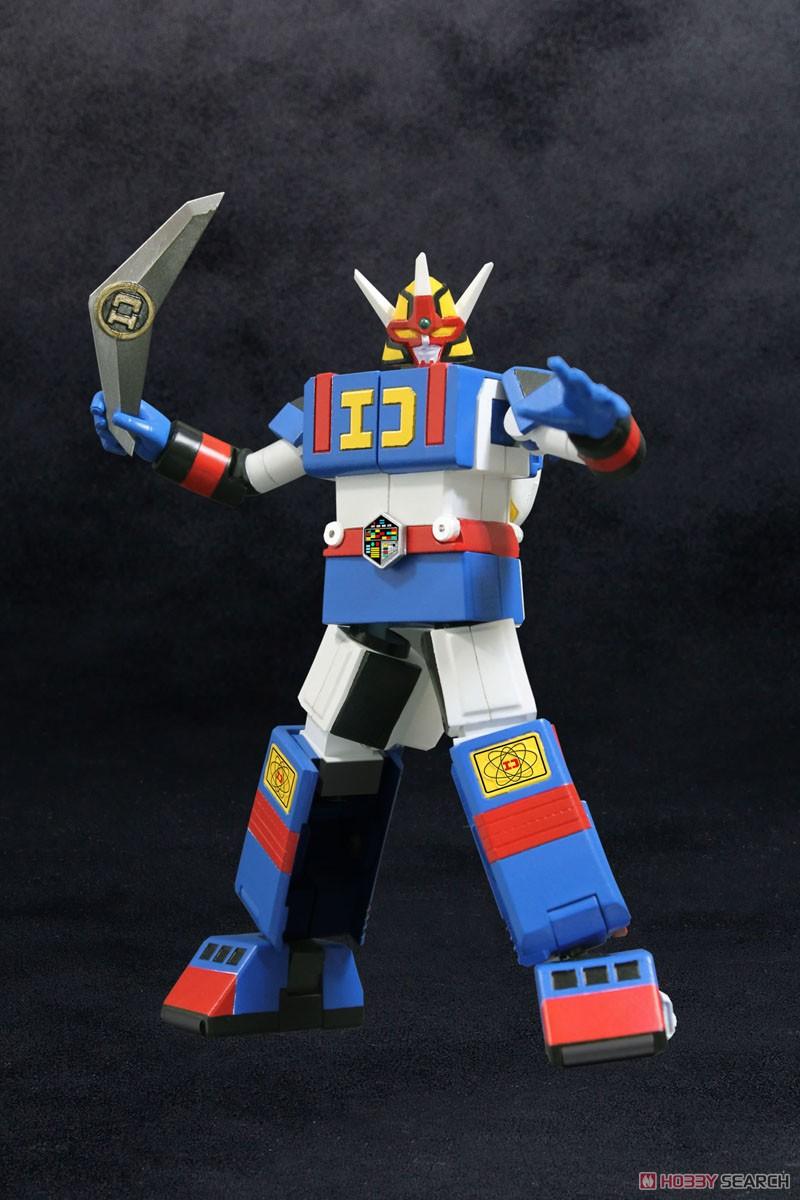 電子戦隊デンジマン『デンジタイガー&ダイデンジン』変形可動フィギュア-004