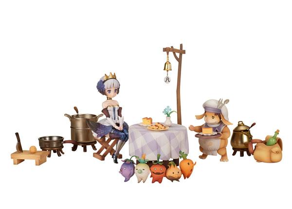オーディンスフィア レイヴスラシル『モーリィの出張レストラン フルセット with グウェンドリン』完成品フィギュア