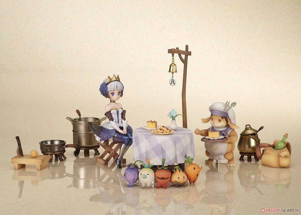 オーディンスフィア レイヴスラシル『モーリィの出張レストラン フルセット with グウェンドリン』完成品フィギュア-001