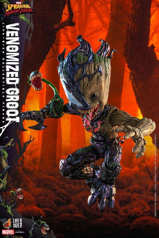 ライフサイズ・マスターピース『グルート(ヴェノム版)』スパイダーマン:マキシマム・ヴェノム 1/6 可動フィギュア-004