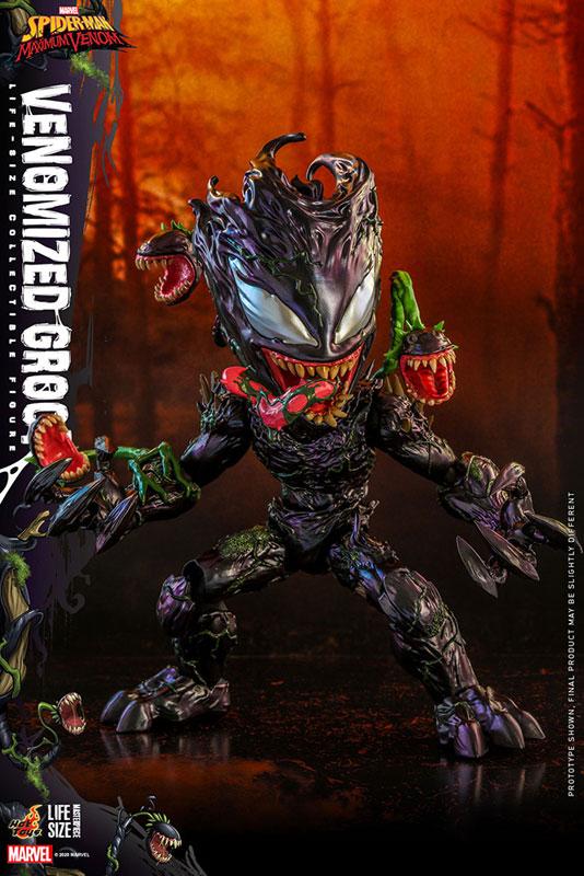 ライフサイズ・マスターピース『グルート(ヴェノム版)』スパイダーマン:マキシマム・ヴェノム 1/6 可動フィギュア-008