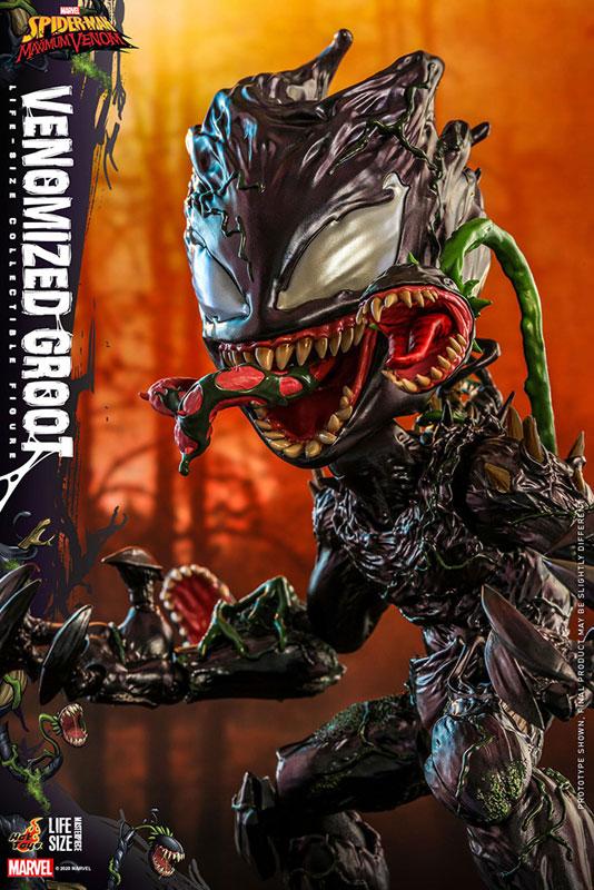 ライフサイズ・マスターピース『グルート(ヴェノム版)』スパイダーマン:マキシマム・ヴェノム 1/6 可動フィギュア-009
