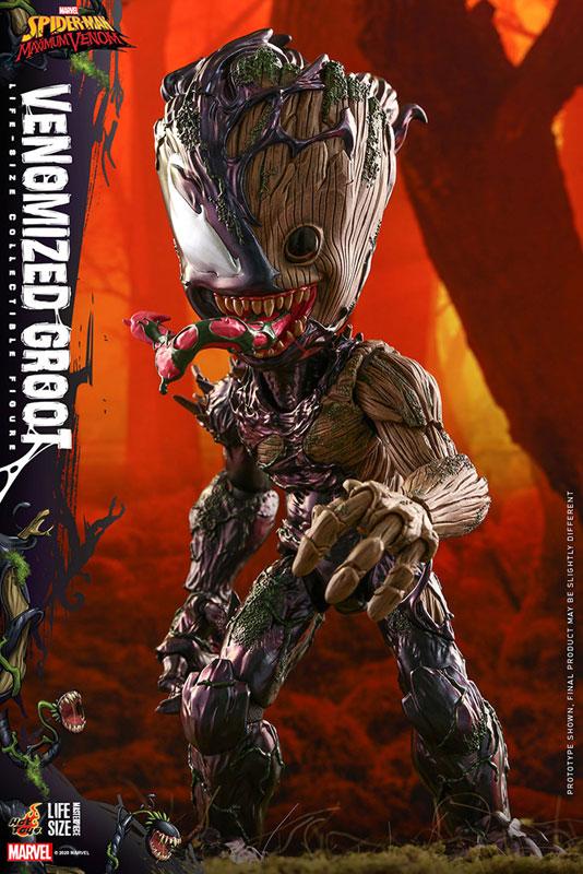 ライフサイズ・マスターピース『グルート(ヴェノム版)』スパイダーマン:マキシマム・ヴェノム 1/6 可動フィギュア-010