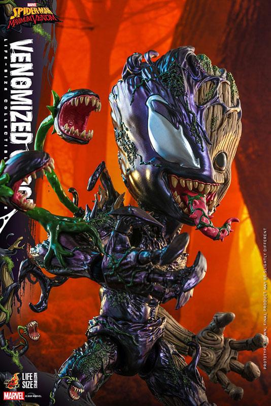 ライフサイズ・マスターピース『グルート(ヴェノム版)』スパイダーマン:マキシマム・ヴェノム 1/6 可動フィギュア-011