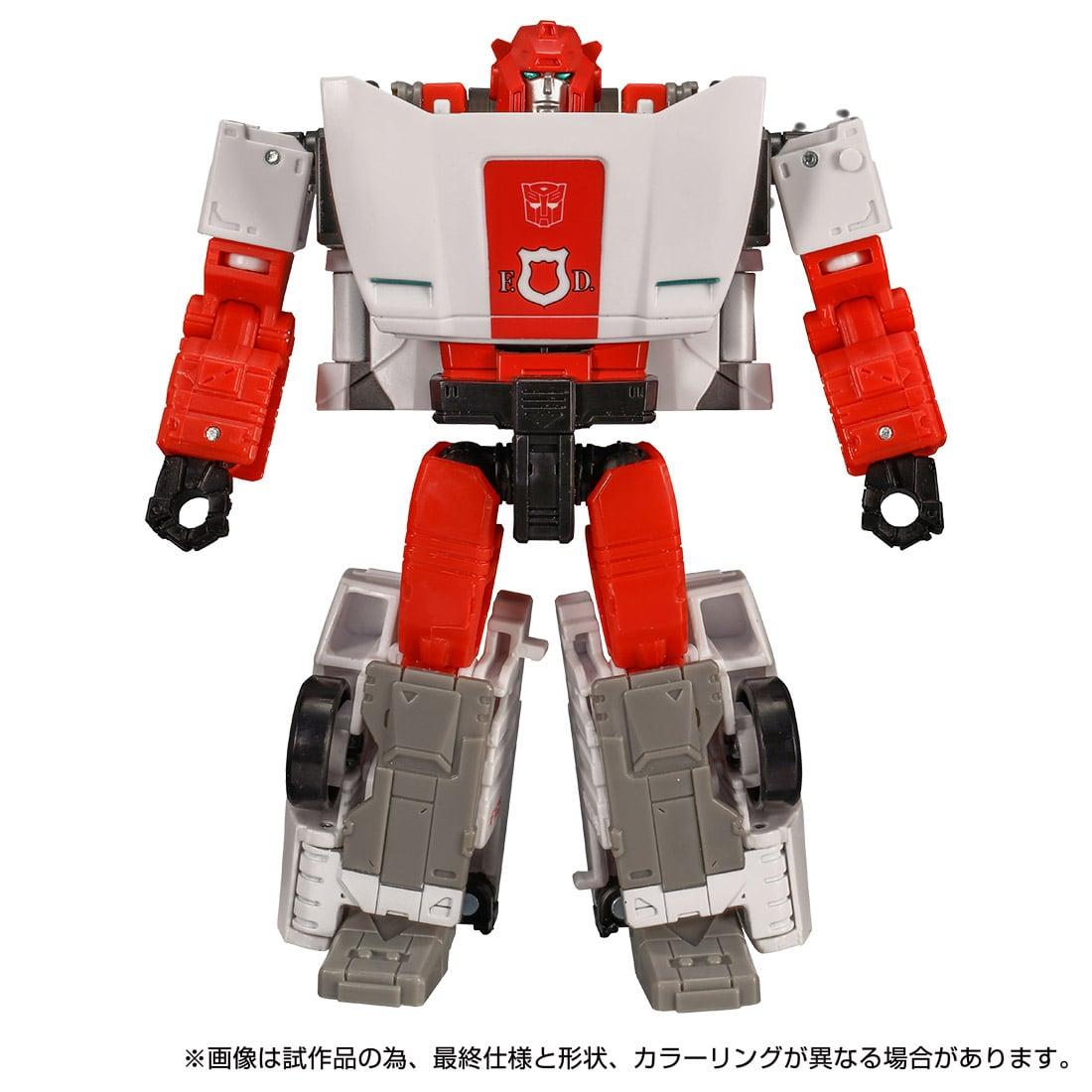 トランスフォーマー キングダム『KD-18 レッドアラート』可変可動フィギュア-002