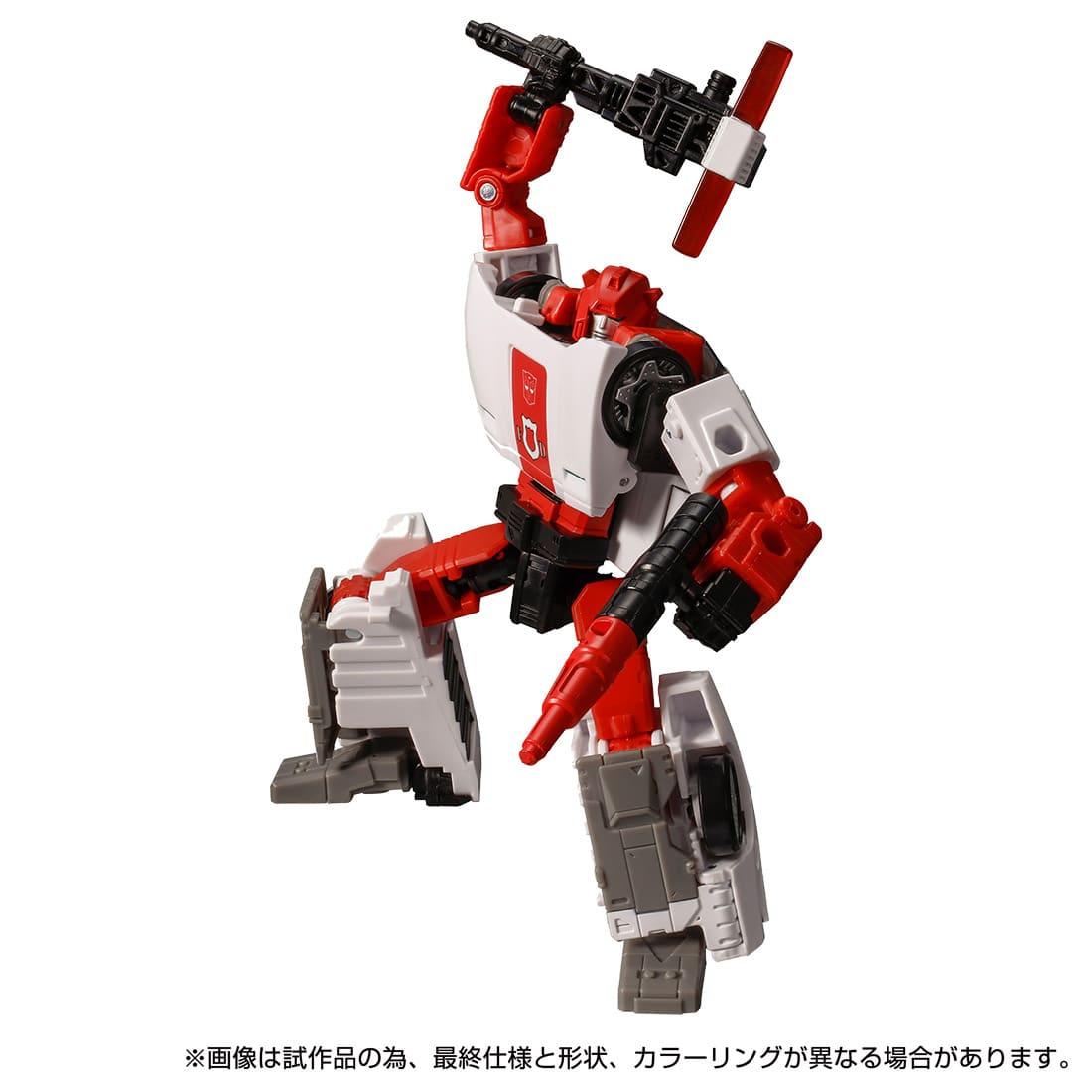 トランスフォーマー キングダム『KD-18 レッドアラート』可変可動フィギュア-006
