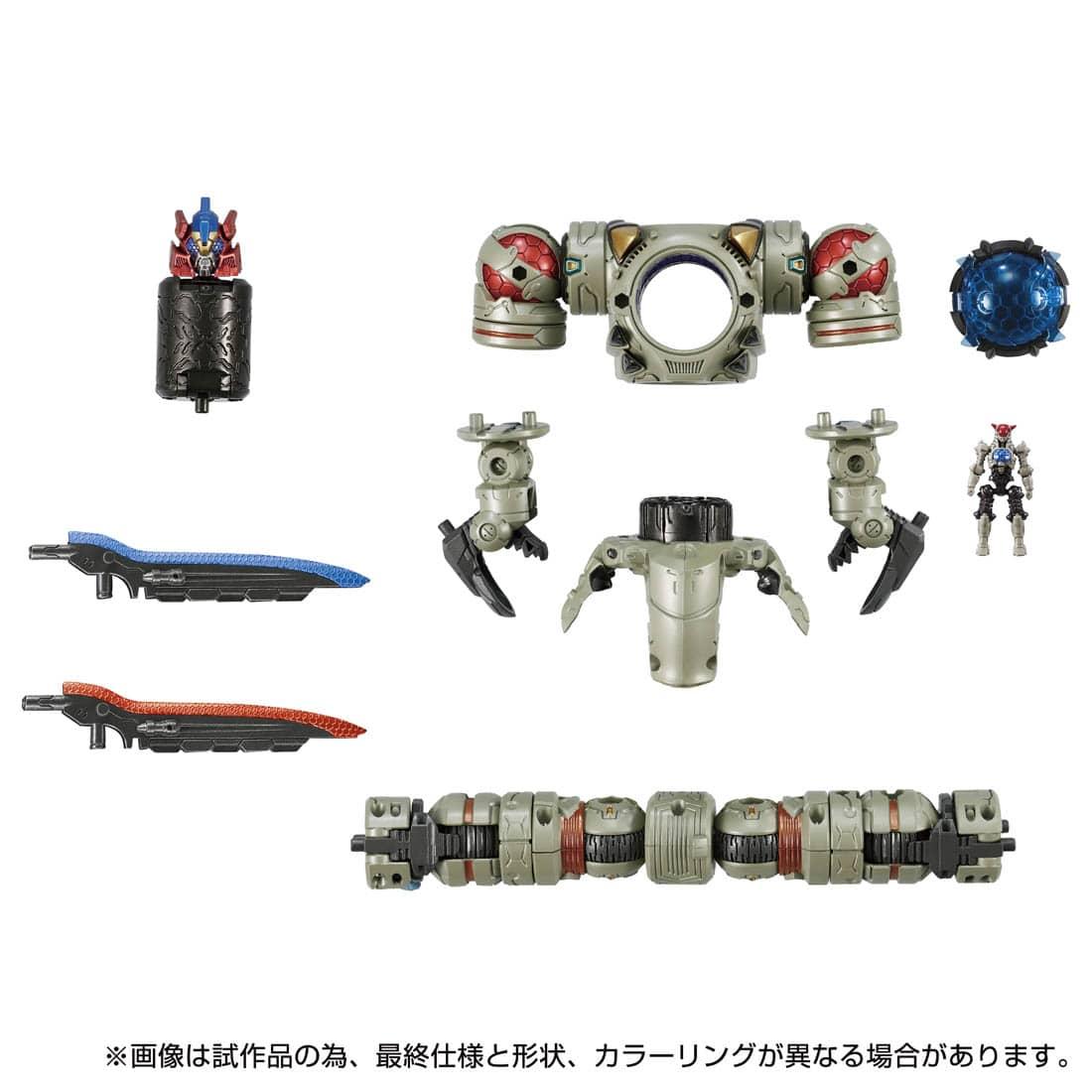 ダイアクロン『DA-86 レギオコア〈リッパー/アノードタイプ〉』可変可動フィギュア-002