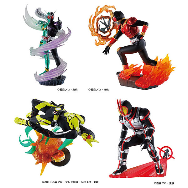 プチラマシリーズ『仮面ライダー Legend Rider Memories』4個入りBOX
