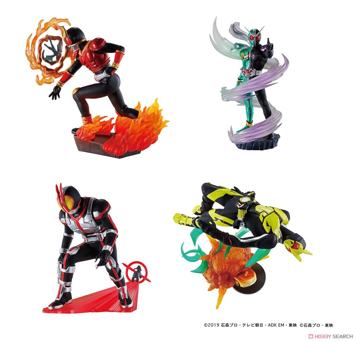 プチラマシリーズ『仮面ライダー Legend Rider Memories』4個入りBOX-005