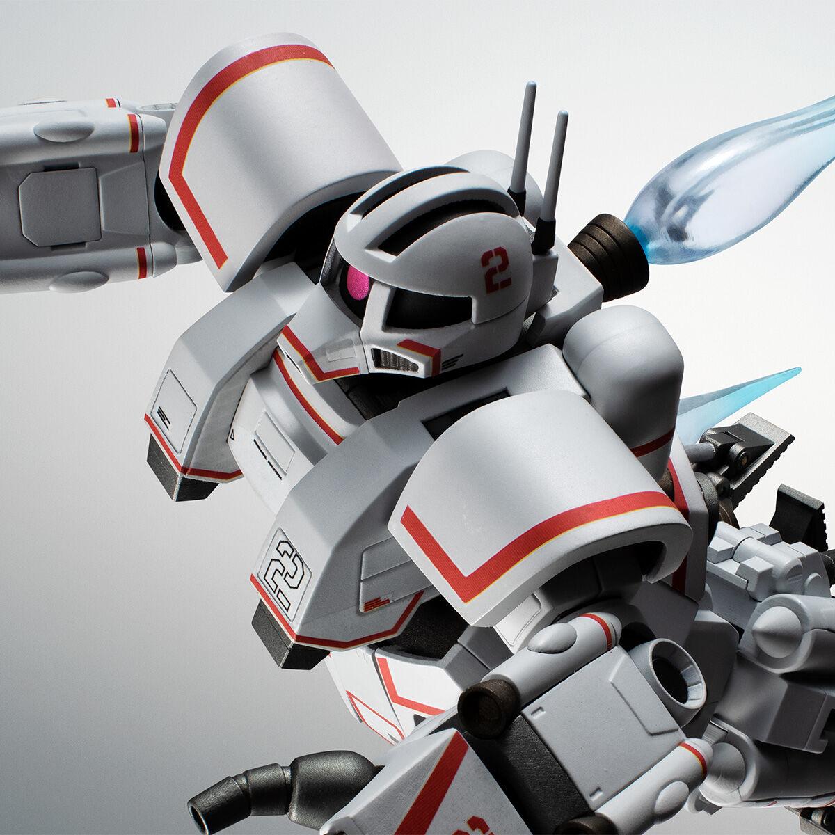 【限定販売】ROBOT魂〈SIDE MS〉『MSN-01 高速機動型ザク ver. A.N.I.M.E.』ガンダムMSV 可動フィギュア-001