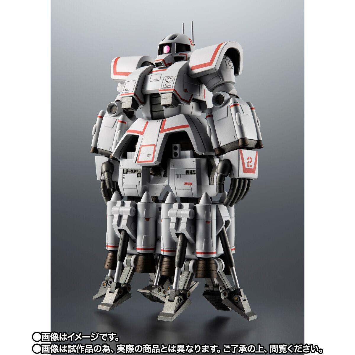 【限定販売】ROBOT魂〈SIDE MS〉『MSN-01 高速機動型ザク ver. A.N.I.M.E.』ガンダムMSV 可動フィギュア-002