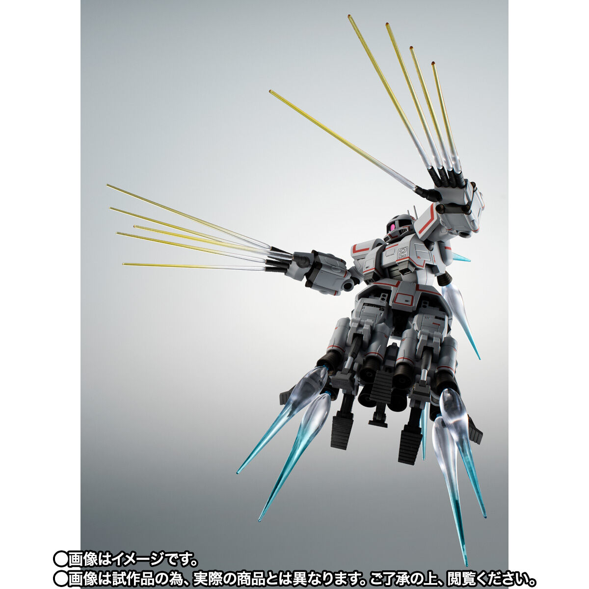 【限定販売】ROBOT魂〈SIDE MS〉『MSN-01 高速機動型ザク ver. A.N.I.M.E.』ガンダムMSV 可動フィギュア-004