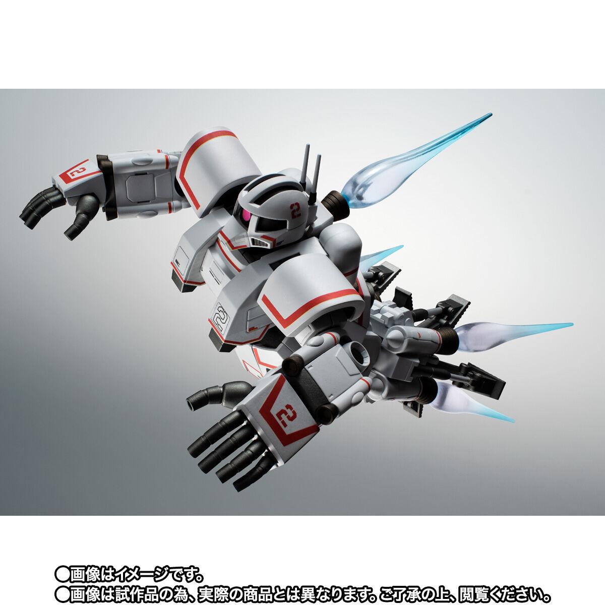 【限定販売】ROBOT魂〈SIDE MS〉『MSN-01 高速機動型ザク ver. A.N.I.M.E.』ガンダムMSV 可動フィギュア-006