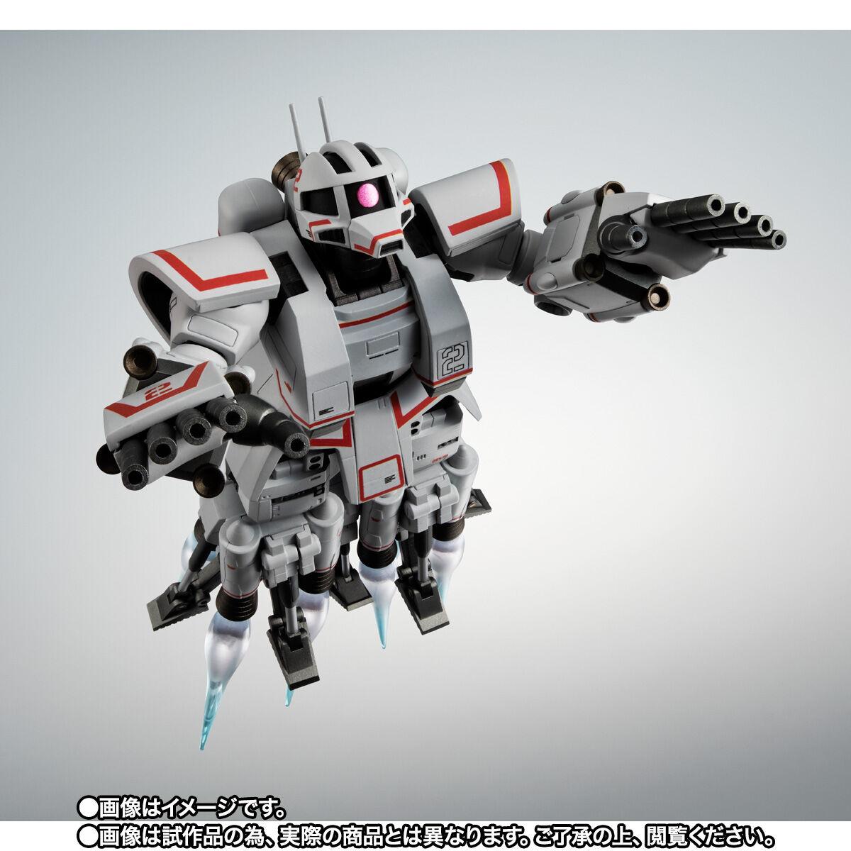 【限定販売】ROBOT魂〈SIDE MS〉『MSN-01 高速機動型ザク ver. A.N.I.M.E.』ガンダムMSV 可動フィギュア-007