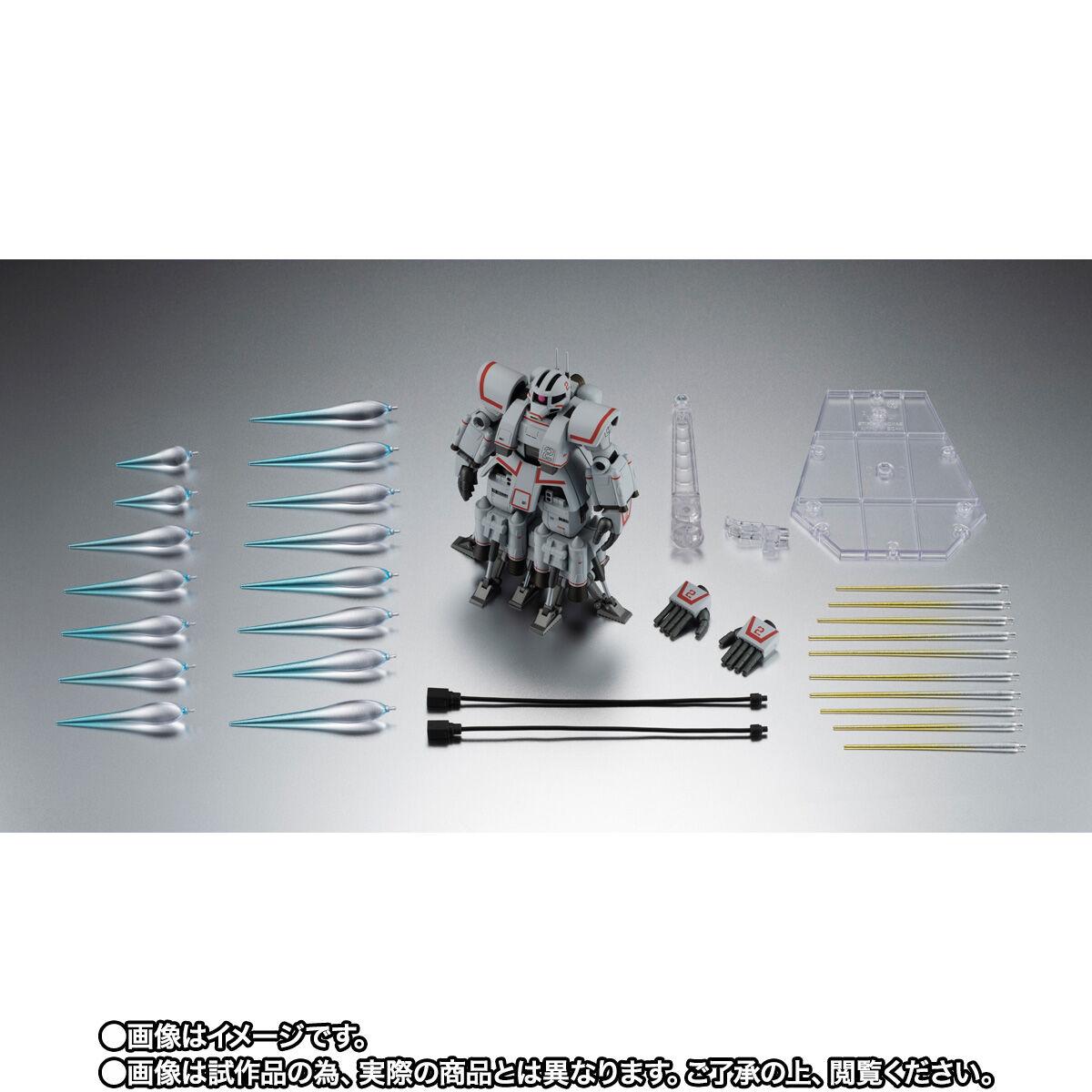 【限定販売】ROBOT魂〈SIDE MS〉『MSN-01 高速機動型ザク ver. A.N.I.M.E.』ガンダムMSV 可動フィギュア-010