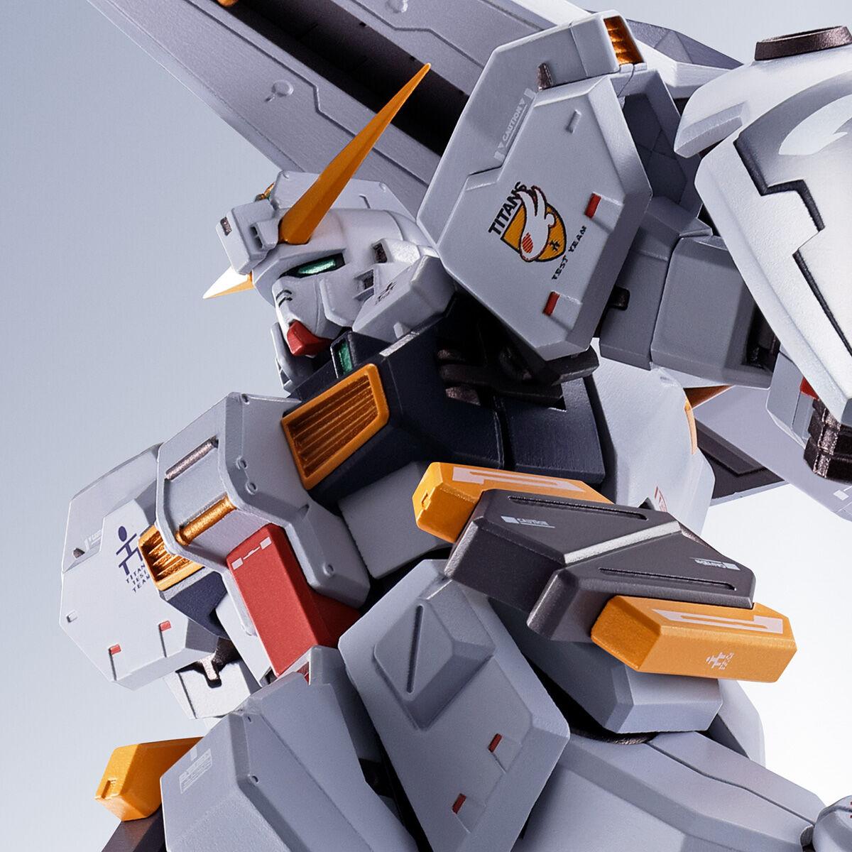【限定販売】METAL ROBOT魂〈SIDE MS〉『ガンダムTR-1[ヘイズル改]&オプションパーツセット』ADVANCE OF Ζ ティターンズの旗のもとに 可動フィギュア-001