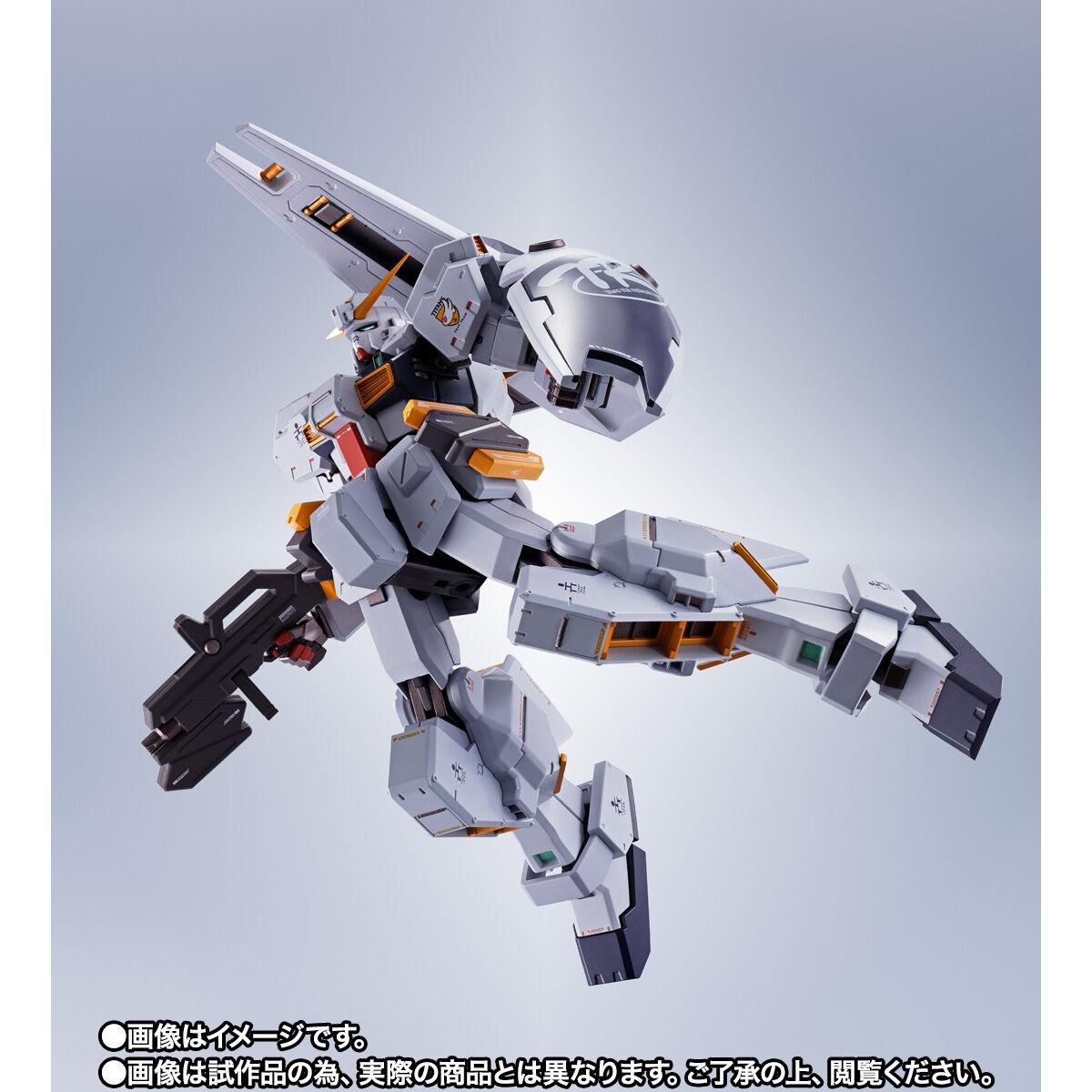 【限定販売】METAL ROBOT魂〈SIDE MS〉『ガンダムTR-1[ヘイズル改]&オプションパーツセット』ADVANCE OF Ζ ティターンズの旗のもとに 可動フィギュア-004