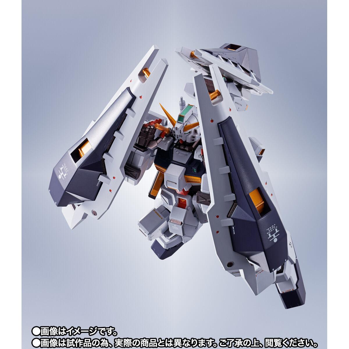 【限定販売】METAL ROBOT魂〈SIDE MS〉『ガンダムTR-1[ヘイズル改]&オプションパーツセット』ADVANCE OF Ζ ティターンズの旗のもとに 可動フィギュア-008