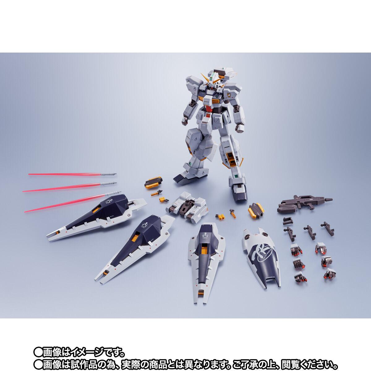 【限定販売】METAL ROBOT魂〈SIDE MS〉『ガンダムTR-1[ヘイズル改]&オプションパーツセット』ADVANCE OF Ζ ティターンズの旗のもとに 可動フィギュア-010