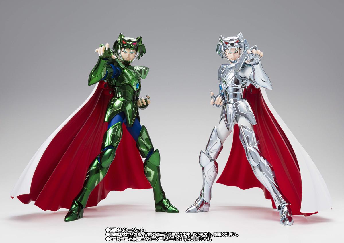 聖闘士聖衣神話EX『ゼータ星アルコルバド』聖闘士星矢 可動フィギュア-006