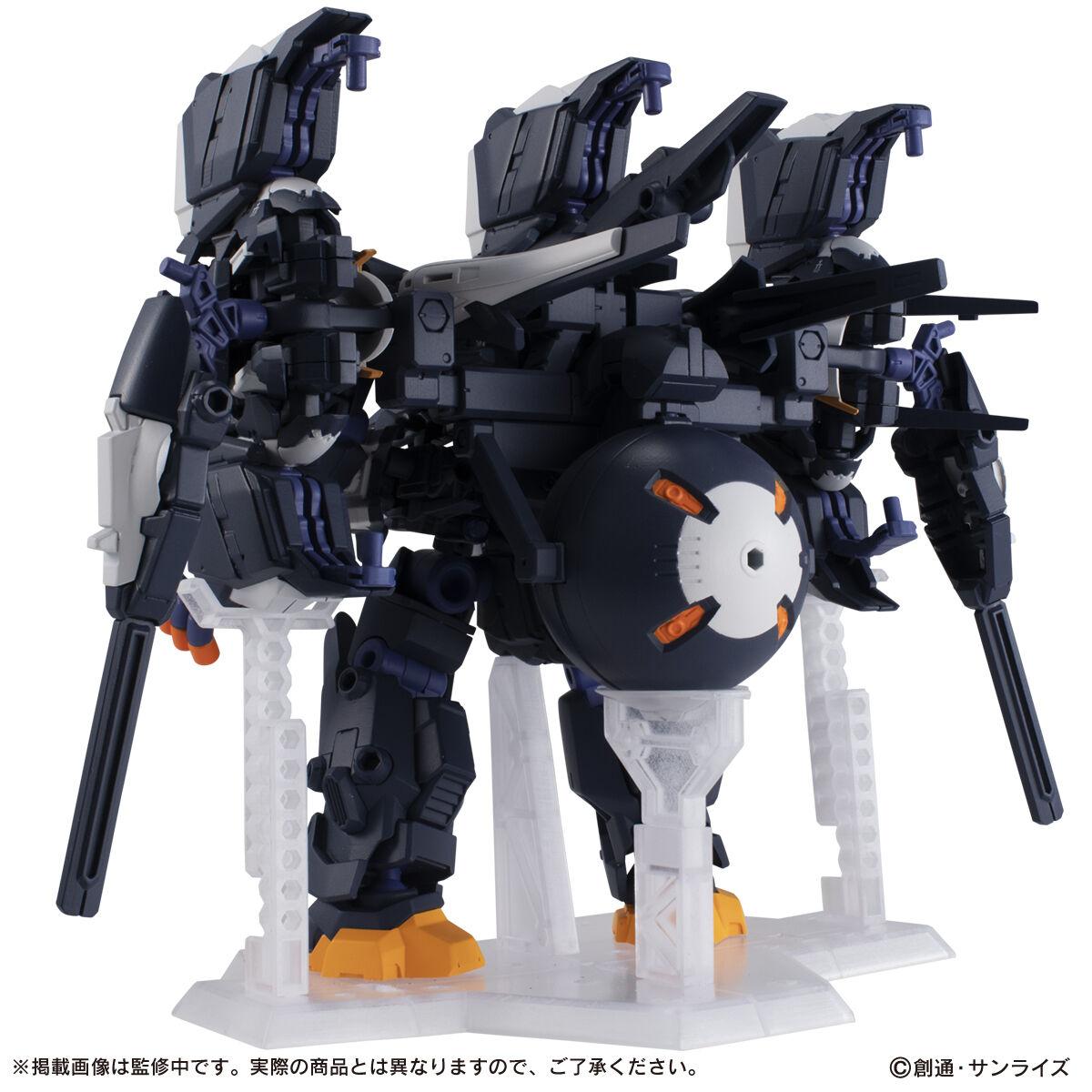 【限定販売】MOBILE SUIT ENSEMBLE『EX35 ガンダムTR-6[クインリィ]フルアーマー形態』デフォルメ可動フィギュア-003