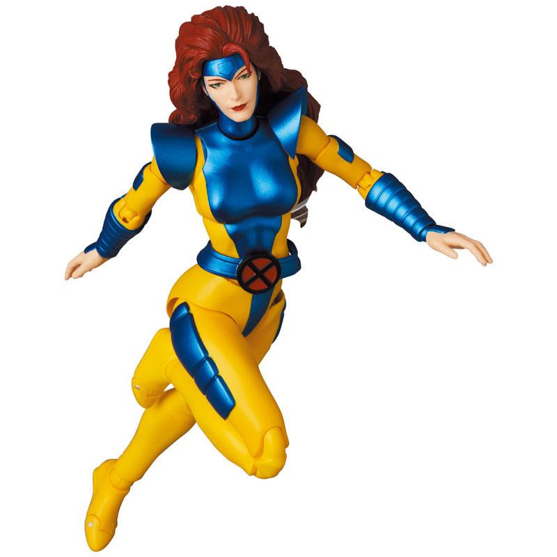 マフェックス No.160 MAFEX『Jean Grey(COMIC Ver.)/ジーン・グレイ コミック版』X-MEN 可動フィギュア-006