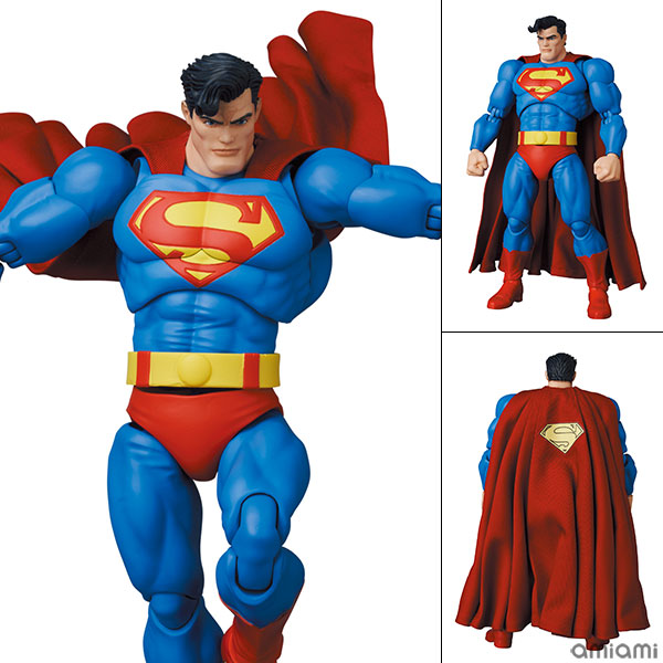 マフェックス No.161 MAFEX『スーパーマン/SUPERMAN(The Dark Knight Returns)』バットマン: ダークナイト・リターンズ 可動フィギュア