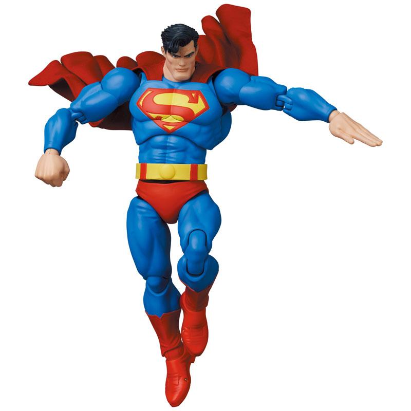 マフェックス No.161 MAFEX『スーパーマン/SUPERMAN(The Dark Knight Returns)』バットマン: ダークナイト・リターンズ 可動フィギュア-001