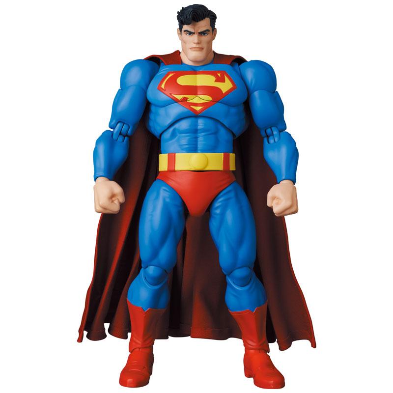 マフェックス No.161 MAFEX『スーパーマン/SUPERMAN(The Dark Knight Returns)』バットマン: ダークナイト・リターンズ 可動フィギュア-003