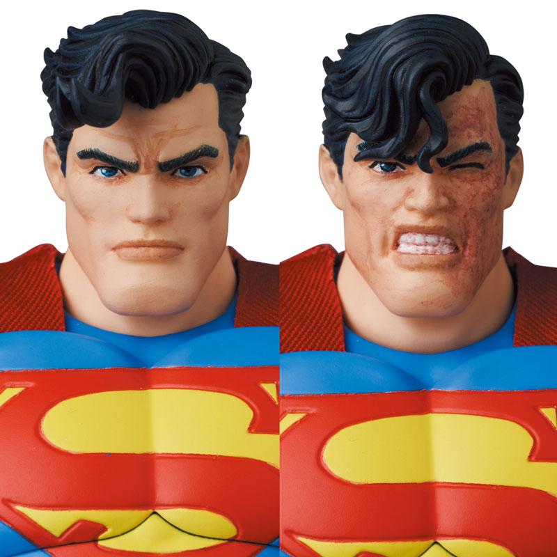 マフェックス No.161 MAFEX『スーパーマン/SUPERMAN(The Dark Knight Returns)』バットマン: ダークナイト・リターンズ 可動フィギュア-007