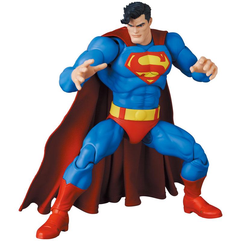 マフェックス No.161 MAFEX『スーパーマン/SUPERMAN(The Dark Knight Returns)』バットマン: ダークナイト・リターンズ 可動フィギュア-009